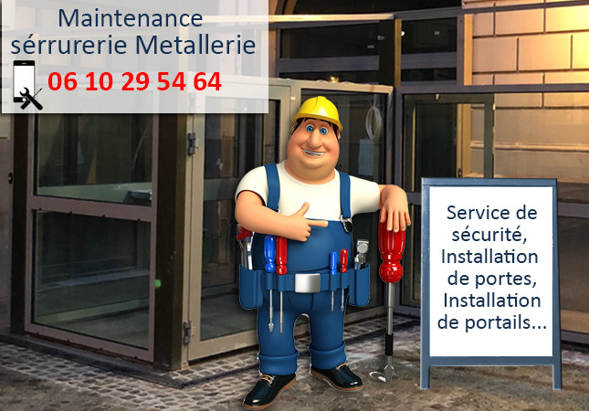 maintenance serurrier melun
